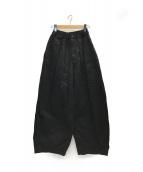 ()の古着「チノサーカスパンツ」|ブラック