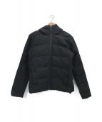 ()の古着「ウールダウンジャケット」|ブラック