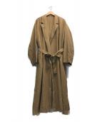 ()の古着「スタナーツイルコート」|ブラウン