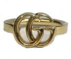 GUCCI()の古着「ダブルG750ゴールドリング」|ゴールド