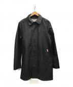 HUNTER(ハンター)の古着「ラバーコーティングレインコート」|ブラック