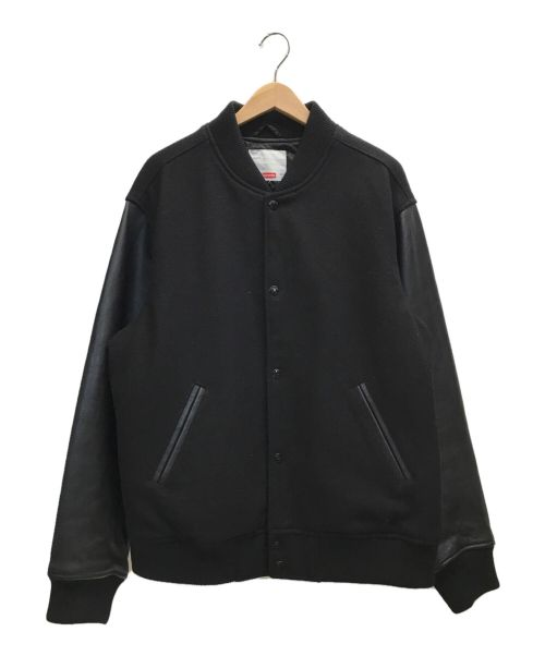 SUPREME(シュプリーム)SUPREME (シュプリーム) モーションロゴスタジャン ブラック サイズ:Lの古着・服飾アイテム