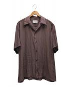 ()の古着「オープンカラーシャツ」 ピンク
