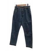 ()の古着「SLIM TAPERED DENIM」 ブルー