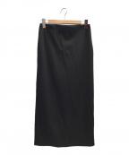 DEUXIEME CLASSE(ドゥーズィエム クラス)の古着「Jersey Long Tightスカート」|ブラック