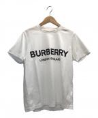 BURBERRY LONDON(バーバリー ロンドン)の古着「ロゴプリントTシャツ」 ホワイト