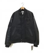 Deluxe x Evisen(デラックス x エビセン)の古着「Varsity JKT」|ブラック