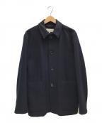 MARGARET HOWELL(マーガレットハウエル)の古着「NAVY SERGE COAT」|ネイビー