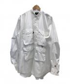DAIWA PIER39(ダイワピア39)の古着「MULCH POCKET FIELD SHIRTS」 ホワイト