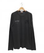MONCLER(モンクレール)の古着「MAGLIA T-SHIRT」|ブラック
