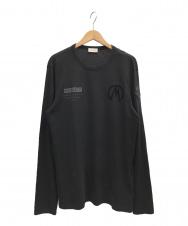 MONCLER (モンクレール) MAGLIA T-SHIRT ブラック サイズ:L