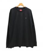 SUPREME(シュプリーム)の古着「Small Box Logo L/S Tee」 ブラック