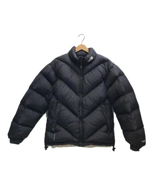 THE NORTH FACE(ザ ノース フェイス)THE NORTH FACE (ザ ノース フェイス) [古着]90'Sダウンジャケット ブラック サイズ:SMALLの古着・服飾アイテム