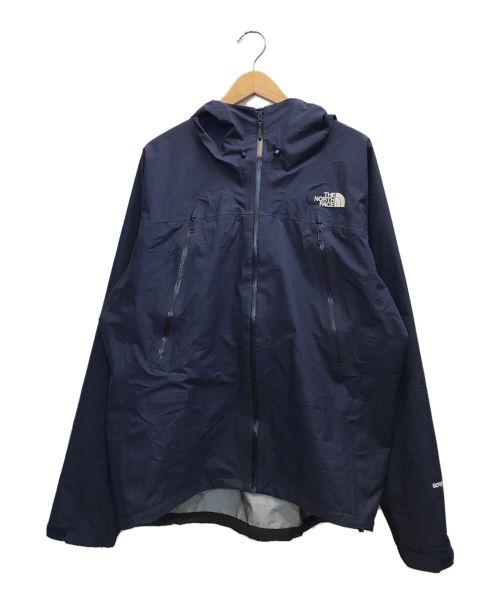 THE NORTH FACE(ザ ノース フェイス)THE NORTH FACE (ザ ノース フェイス) CLIMB VERY LIGHT JACKET ネイビー サイズ:XLの古着・服飾アイテム