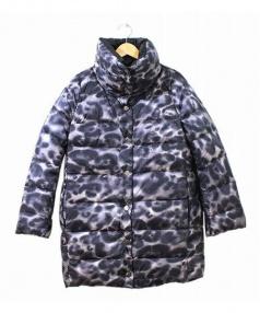 MONCLER(モンクレール)の古着「リバーシブルダウンコート」|グレー