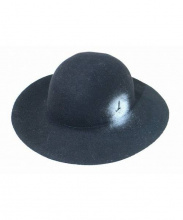 Muhibauer(ミュールバウアー)の古着「ワイドブリムウールハット」|ブラック