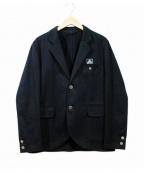 BEN DAVIS(ベン デイビス)の古着「ブラックラベル・ワークジャケット」|ブラック