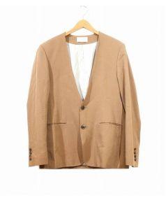 7×7(セブンバイセブン)の古着「カラーレステーラードジャケット」|キャメル