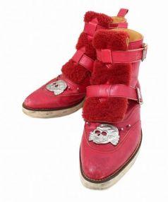 UNDERCOVERISM(アンダーカバーイズム)の古着「ブーツ」 レッド