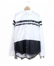 ELVIRA(エルビラ)の古着「ラインシャツ」|ホワイト