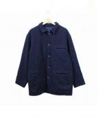 COMME des GARCONS HOMME(コムデギャルソンオム)の古着「カシミヤ混ウールコート」|ブラック