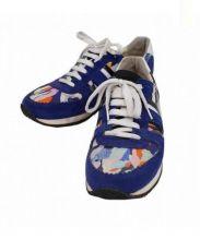 CARVEN(カルヴェン)の古着「Brush Stroke Print Sneakers」 パープル