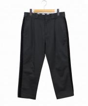 Dickies(ディッキーズ)の古着「サイドラインパンツ」|ブラック