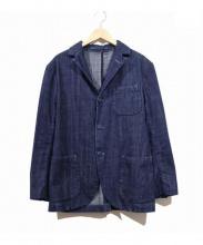 EVISU(エビス)の古着「デニムテーラードジャケット」 インディゴ
