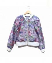 masao shimizu(マサオ シミズ)の古着「総柄ブルゾン」|マルチカラー