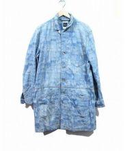 iroquois(イロコイ)の古着「デニムショップコート」|インディゴ