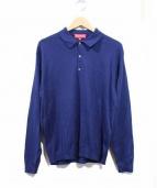 SUPREME(シュプリーム)の古着「長袖ポロシャツ」|ネイビー