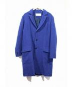 Julien David(ジュリアンデイヴィッド)の古着「Alpaca Wool Coat」 ブルー