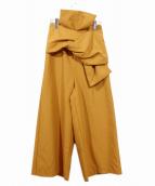AMERI(アメリ)の古着「OBI WIDE PANTS/ワイドパンツ」