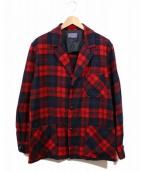 PENDLETON(ペンドルトン)の古着「ヴィンテージアンコンジャケット」|レッド