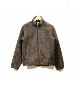 Patagonia(パタゴニア)の古着「シンチラフリースジャケット」|ブラウン×グリーン