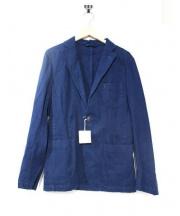 M.I.D.A(ミダ)の古着「ヘリンボーン織りテーラードジャケット」|ネイビー
