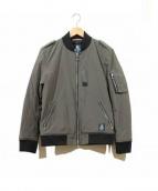 GUILD PRIME(ギルドプライム)の古着「MA-1ジャケット」|グレー