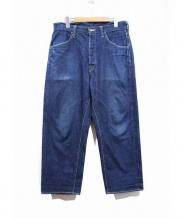 HURRAY HURRAY(フレイフレイ)の古着「4ポケットデニムパンツ」|インディゴ