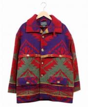 POLO COUNTRY(ポロカントリー)の古着「ネイティブジャケット」|レッド