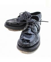 YUKETEN(ユケテン)の古着「エナメルシューズ」|ブラック