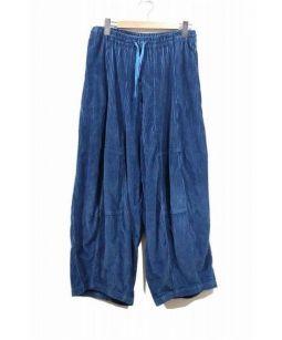 Needles(ニードルス)の古着「コーデュロイヒザデルパンツ」|ブルー