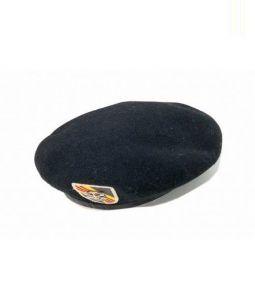 THE REAL McCOYS(リアルマッコイズ)の古着「ウールベレー帽」|ブラック