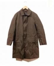 MACKINTOSH(マッキントッシュ)の古着「ゴム引きステンカラーコート」|ブラウン