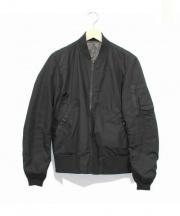 ALPHA×BEAMS(アルファ×ビームス)の古着「別注MA-1ジャケット」 ブラック