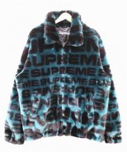 SUPREME(シュプリーム)の古着「総柄ファージャケット」|ティール