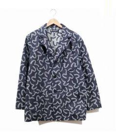 EVISU by hidehiko yamane(エビス バイ ヒデヒコヤマネ)の古着「総カモメデニムテーラードジャケット」|インディゴ