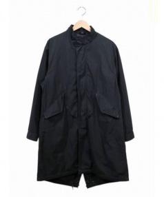 JOURNAL STANDARD HOMESTEAD(ジャーナルスタンダードホームステッド)の古着「ライナー付モッズコート」|ブラック