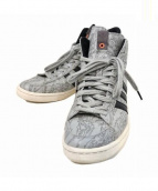 adidas×maharishi×UNDEFEATED(アディダス×マハリシ・アンディフィーテッド)の古着「JABBAR MID(ジャバーミッド)」|グレー