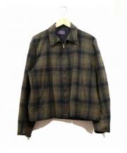 PENDLETON(ペンドルトン)の古着「ヴィンテージウールスポーツジャケット」|ブラウン