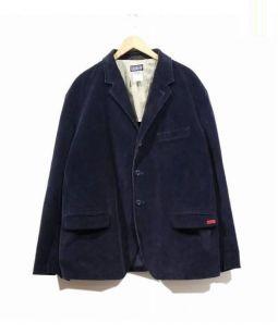 Patagonia(パタゴニア)の古着「コーデュロイテーラードジャケット」 ネイビー